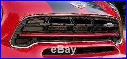 Mini Cooper Countryman Paceman R60 R61 OEM Jcw Noir & Rouge avant Calandre Neuf