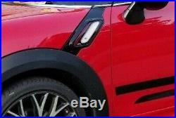 Mini OEM Countryman Paceman R60 R61 Jcw Noir & Rouge Côté Aération Tout Neuf
