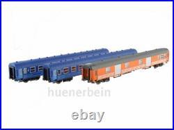 Modelsworld MW1903.1 Sncb Jeu 3 Pièces Railtour Camino Azul Ep4ab Neuf
