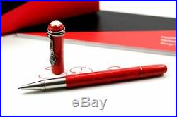 Montblanc Rouge et Noir Rollerball Stylo Fineliner Special Edition Neuf