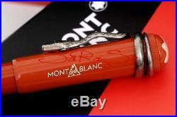 Montblanc Rouge et Noir Stylo Kuli Stylo à Bille Spéciale Edition Neuf