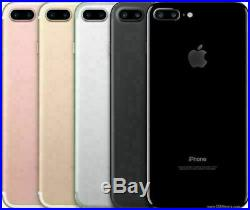 NEUF Apple iPhone 7 Plus 32Go 128Go 256Go Noir Rouge Dore Argent Or Rose SmartPh
