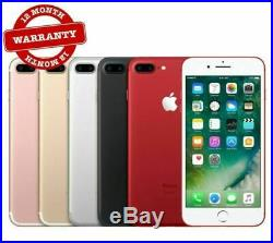 NEUF Apple iPhone 7 Plus 32Go 128Go 256Go Noir Rouge Or Argent Rose SmartPhone