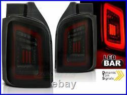 NEUF Feux arrière pour VW T5 2003-2015 Fumée Noir Rouge LED FR LDVWH6-ED XINO FR