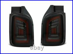 NEUF Feux arrière pour VW T5 2003-2015 Fumée Noir Rouge LED Transporter FR LDVWH