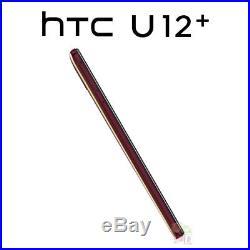NEUF HTC U12 Plus (2Q55100) 6 6 Go / 64 Go LTE Dual SIM Débloqué ROUGE
