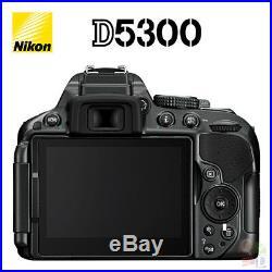 NEUF Nikon D5300 24.2MP Caméra DSLR CORPS NOIR