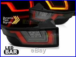 NEUF Paire de Feux arrière LED Land Range Rover Evoque 2011-Rouge Blanc Noirs L