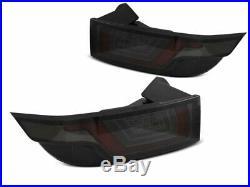 NEUF Paire de Feux arrière LED Land Range Rover Evoque 2011-Rouge Fumée Noirs L