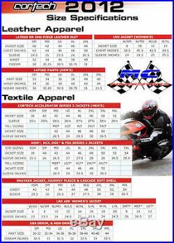 Neuf Cortech Latigo 2.0 RR Cuir Suit 1-Piece, Noir/Blanc/Rouge, US-44/46/EUR-56