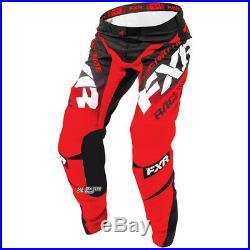 Neuf Equipement Tenue Motocross FXR Racing Mission MX Rouge Noir Enduro PROMO
