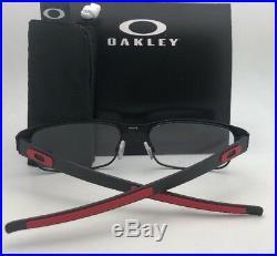 Neuf Ferrari Oakley Lunettes Carbone Plaque OX5079-0455 Noir Rouge W / Fibre de