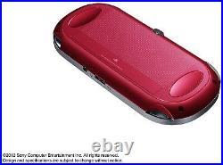 Neuf Sony Ps Vita PCH-1000 ZA03 Rouge Wi-Fi Modèle Console F/S Japon