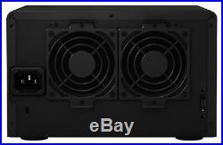 Neuf! Synology DX517 10TB (5 X 2TB WD Rouge) 5 Baie Bureau Expansion Unité Noir