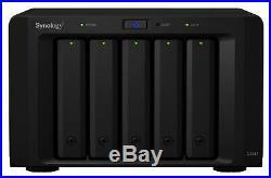 Neuf! Synology DX517 30TB (5 X 6TB WD Rouge) 5 Baie Bureau Expansion Unité Noir