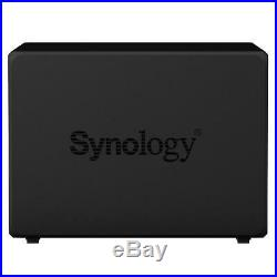 Neuf! Synology Diskstation DS418PLAY 32TB (4 X 8TB WD Rouge) 4 Baie Nas Noir