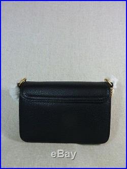 Neuf avec Étiquettes Tory Burch Noir Chelsea Mini Sac Bandoulière 328$