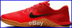Nike Metcon 4 Xd Rouge Orbit Orange Noir Croix Entraînement Homme 2019 Tout Neuf