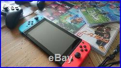 Nintendo Switch état neuf sous garantie 128go