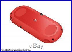 PLAYSTATION Ps Vita Super Value Paquet Console de Jeu Sony Rouge Noir Neuf