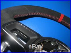 Porsche 991 981 970 95B 958 Multifonction Tiptronic Volant Alcantara Rouge Neuf