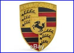 Porsche Capuche Emblème (Rouge/Noir) Neuf Genuine Porsche