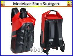 Porsche Etanche Rolltop-Rucksack Rouge/Noir 450 x 260 X 150 MM Neuf