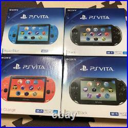 Ps Vita PCH-2000 Sony PLAYSTATION Noir, Bleu, Rouge, Argent, Blanc, Autres Neuf