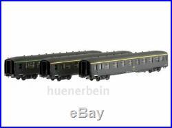 Ree Models VB136 SNCF Jeu 3x Dev A0 U50 Voitures Vert Celtique Vert Ep4 Neuf