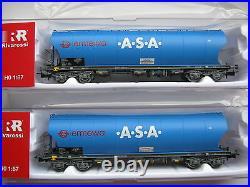 Rivarossi HR6285 6399 3x Silo Wagon D Ermewa Herford DB Ep. 5-6 Neuf À 6471 6474