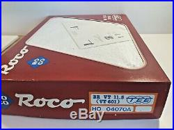 Roco 04070 A Coffret TEE BR VT 11,5 (VT 601) DB ép III éclairage HO, état neuf