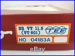 Roco 04183 A Coffret TEE BR VT 11,5 (VT 601) DB ép III éclairage HO, état neuf