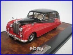 Rolls Royce Silver Spectre Freestone & Webb 1957 Noir/Rouge 1/43 matrix Neuf