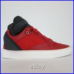 S-2162114 Neuf Balenciaga Rouge/Noir Espadrilles Montantes Taille de Chaussure