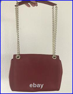 SUPER PROMO Sac porté épaule MOSCHINO Femme Chaîne Rouge Noir Neuf Authentique