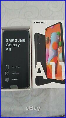 Samsung Galaxy A11 2Go Ram 32Go Rom Noir NEUF