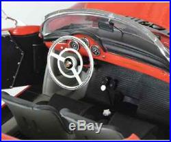Schuco Maquette de Voiture Neuf Porsche 356 A, Rouge 118 450031300