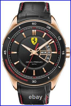 Scuderia Ferrari Montre pour Homme Gran Premio 0830185 de Marque Neuf