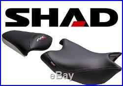 Selle SHAD Confort moto HONDA NC700S NC750S Noir NEUF saddle seat NC 700 S 750