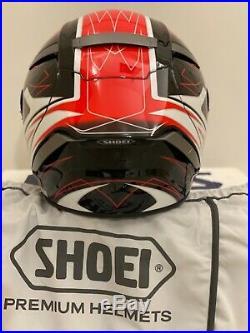 Shoei X-Spirit III Assail TC-1 casque intégral Noir Rouge Neuf Taille M. 57-58cm