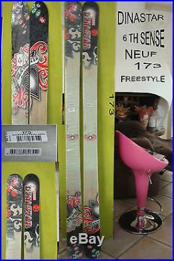 Ski Freestyle Nu Dinastar 6 Th Sense Rouge / Gris 173 Neuf /blister Valeur 499