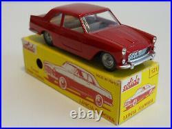 Solido Série 100 Rf 121 Lancia Flaminia Rouge non métallisé plancher noir Neuf