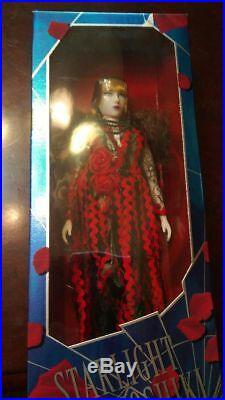 Starlight Yoshiki X Japon Rose Robe Rouge Noir Figurines Rare de Japon Neuf Ems