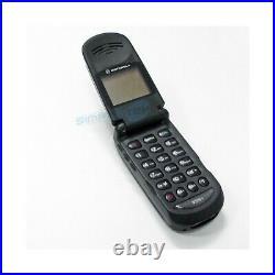 Téléphone Cellulaire Motorola V998+ Noir Gsm Double Bande Remis à Neuf