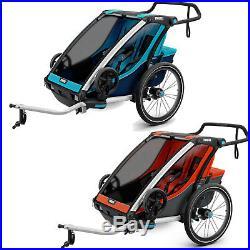 Thule Chariot Cross 2 Remorque Vélo Multisport Deux Places Enfants Neuf