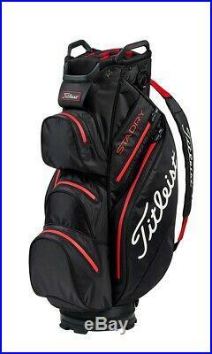Titleist Stadry Sac de golf 2019 Noir/Rouge Neuf Au lieu de