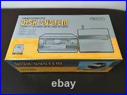 Tout Neuf Nintendo Famicom Disque Système Rouge Inutilisé Complet Boite