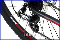VTT Homme 29 alu Sharp noir-rouge 24 vitesses Vélo Neuf KS Cycling M802M