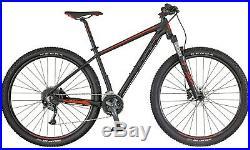 VTT SCOTT Aspect 740 MTB noir rouge mat vélo tout terrain NEUF