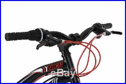 VTT Tout Suspendu 21 Vit 26'' Nice Noir-Rouge Neuf TC 48 CM KS Cycling 234M